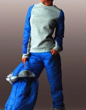 """Спортивный костюм тройка на синтепоне """"Тренд спорт"""" Синий купить в Москве"""