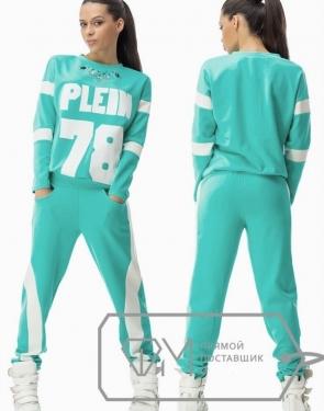 """Спортивный костюм женский  """"Plein 78"""" Ментол бледный"""