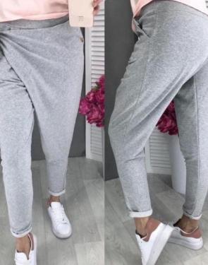 Стильные спортивные штаны женские / Серый