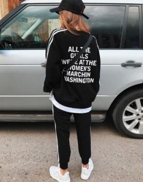 Спортивный костюм Washington / Черный
