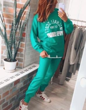 Спортивный костюм Michael Scott / Сочный зеленый
