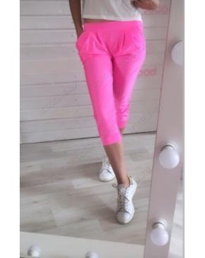Ярко-Розовые Бриджи с карманами
