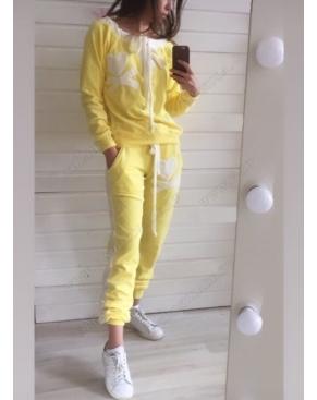 """Велюровый костюм """"Филипп Плэйн"""" Желтый Classic"""