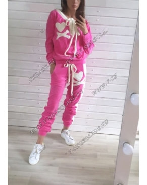 """Велюровый костюм """"Филипп Плэйн"""" Розовый Classic"""