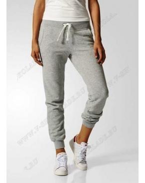 Утепленные спортивные штаны женские / Серый
