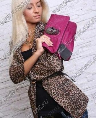 Леопардовый пиджак женский