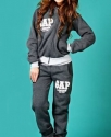 """Спортивный костюм женский """"Gap"""" Серый-графит"""
