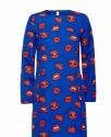 Платье Синее с красными губами купить